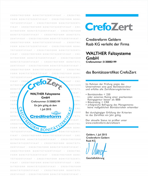 Certificat PCI