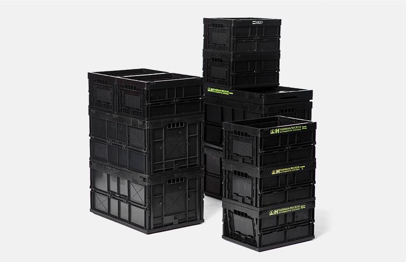 ESD-Boxen in verschiedenen Maẞen