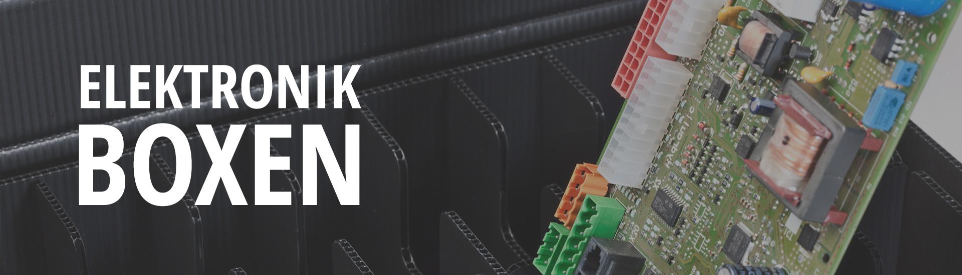 Boxen für die Elektronikbranche
