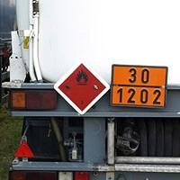 Kennzeichnung von Gefahrguttransporten