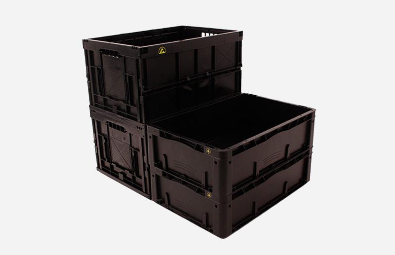 Leitfähige Kunststoffboxen