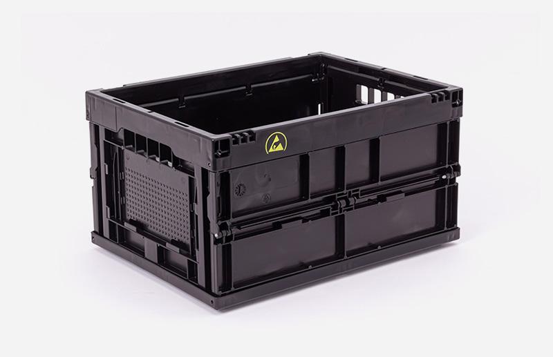Leitfähige Kunststoffbox