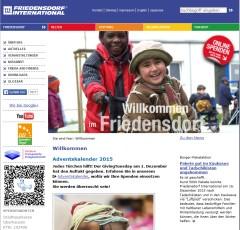 Spende für das Friedensdorf