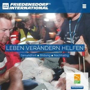Spende Friedensdorf