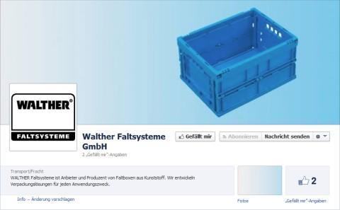WALTHER Faltsysteme jetzt auf facebook