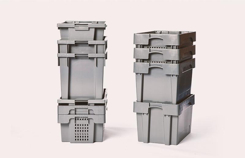 Behälter für optimierte Logistik