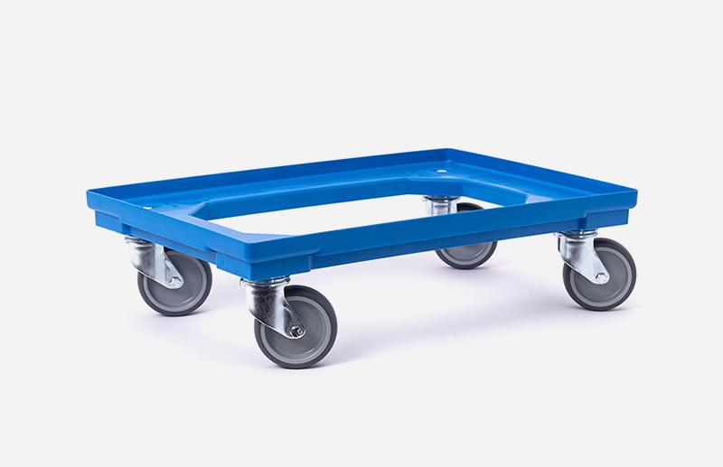 Rollwagen, blau