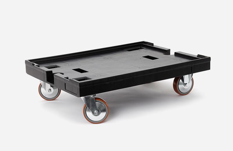 Rollwagen, schwarz