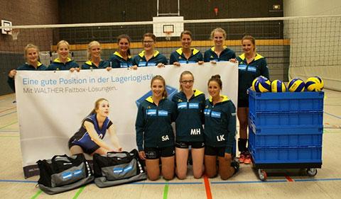 Die Volleyball Damen des VCE Geldern